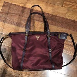Prada - Burgundy Prada Bag